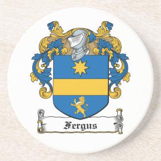 Fergus Family Crest Beverage Coaster