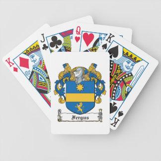 Fergus Family Crest Card Decks