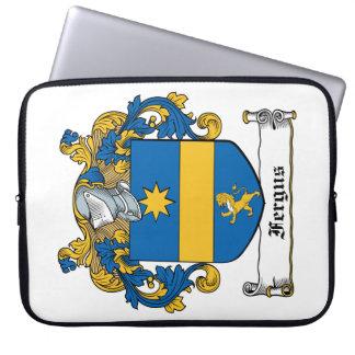 Fergus Family Crest Computer Sleeves