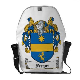 Fergus Family Crest Courier Bags