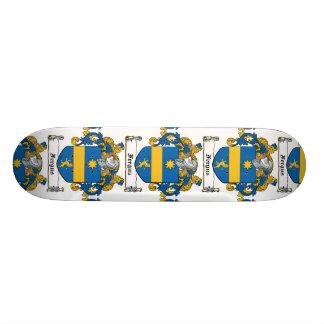 Fergus Family Crest Custom Skate Board