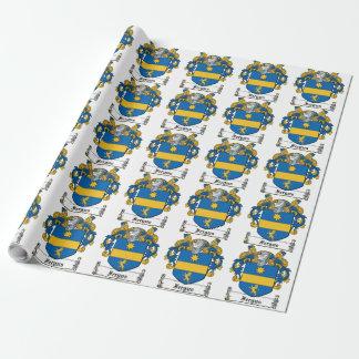 Fergus Family Crest Gift Wrap