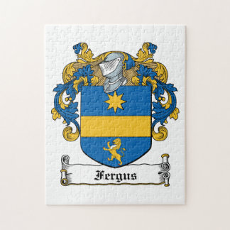 Fergus Family Crest Jigsaw Puzzle