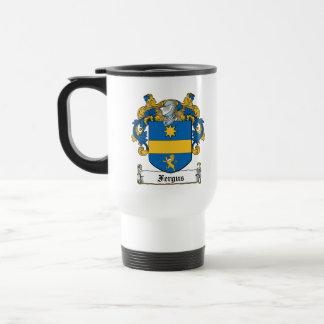 Fergus Family Crest Mugs