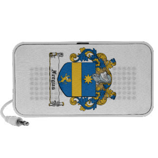 Fergus Family Crest Portable Speaker