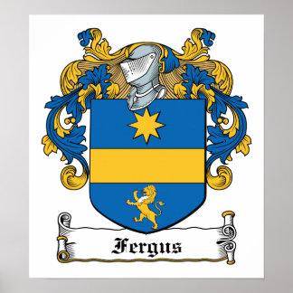 Fergus Family Crest Poster