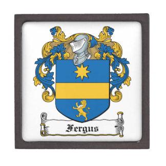 Fergus Family Crest Premium Keepsake Box