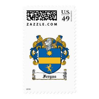 Fergus Family Crest Stamp