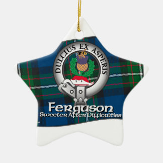 Ferguson Clan Ceramic Ornament