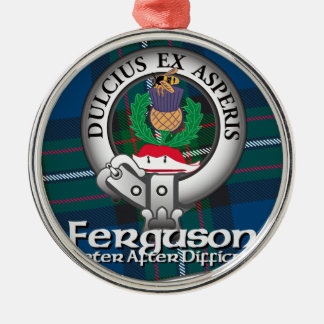 Ferguson Clan Metal Ornament