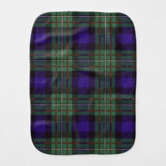 Ferguson clan Plaid Scottish tartan Baby Burp Cloth