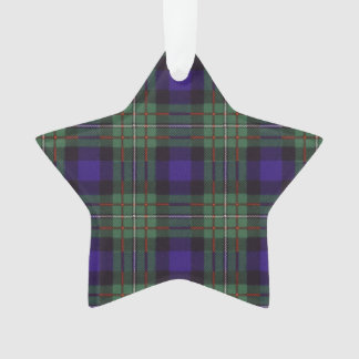 Ferguson clan Plaid Scottish tartan Ornament