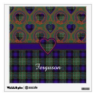 Ferguson clan Plaid Scottish tartan Wall Sticker