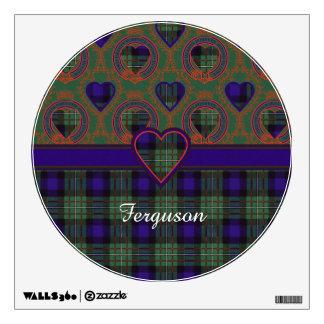 Ferguson clan Plaid Scottish tartan Room Graphics