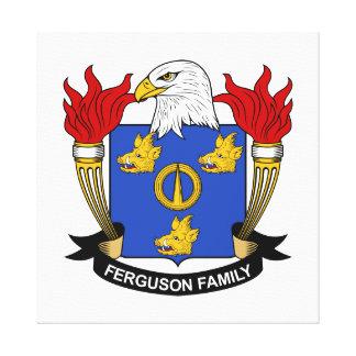 Ferguson Family Crest Canvas Print