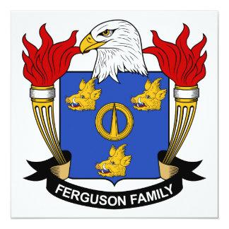 Ferguson Family Crest Card