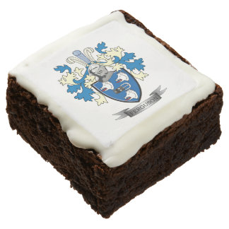 Ferguson Family Crest Coat of Arms Chocolate Brownie