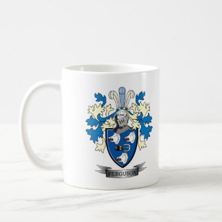 Ferguson Family Crest Coat of Arms Coffee Mug