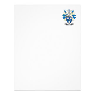 Ferguson Family Crest Coat of Arms Letterhead