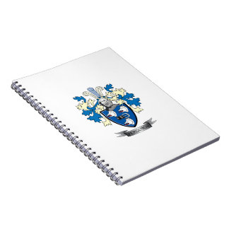 Ferguson Family Crest Coat of Arms Notebook