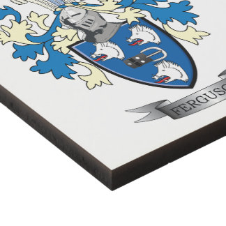 Ferguson Family Crest Coat of Arms Panel Wall Art