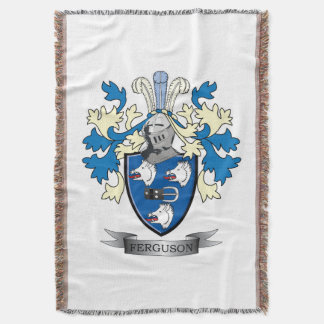 Ferguson Family Crest Coat of Arms Throw