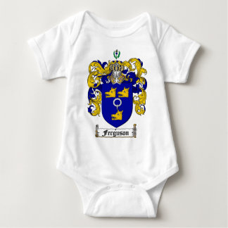 FERGUSON FAMILY CREST -  FERGUSON COAT OF ARMS BABY BODYSUIT