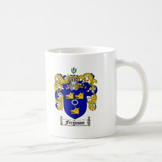 FERGUSON FAMILY CREST -  FERGUSON COAT OF ARMS COFFEE MUG