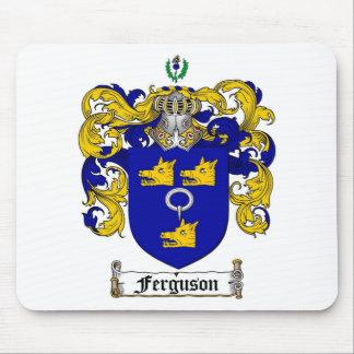 FERGUSON FAMILY CREST -  FERGUSON COAT OF ARMS MOUSE PAD