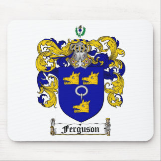 FERGUSON FAMILY CREST -  FERGUSON COAT OF ARMS MOUSE PAD