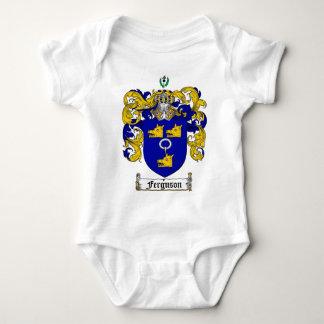 FERGUSON FAMILY CREST -  FERGUSON COAT OF ARMS INFANT CREEPER