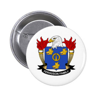 Ferguson Family Crest Pinback Button