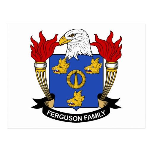 Ferguson Family Crest Postcard