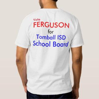 Ferguson for School Board Human Billboard T-Shirt