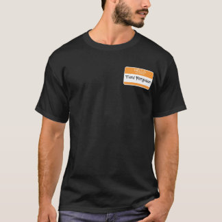 Ferguson Name Tag Joke Shirt