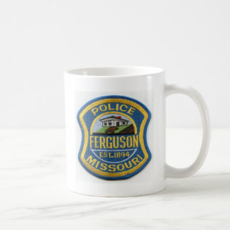 Ferguson Police Patch Coffee Mug