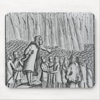 Ferguson preaching to rebels the day before mouse pad