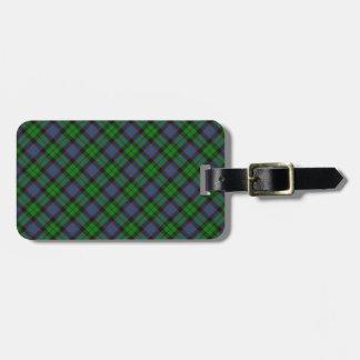 Ferguson Scottish Clan Tartan Design Tag For Bags
