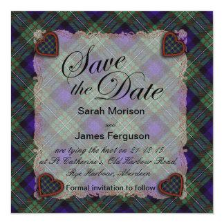 Ferguson Scottish clan tartan - Plaid Card