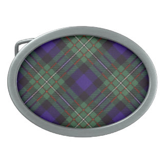Ferguson Scottish Tartan Oval Belt Buckle