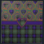 "Ferguson Scottish Tartan Cloth Napkin<br><div class=""desc"">Ferguson Scottish Tartan</div>"