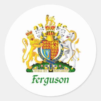 Ferguson Shield of Great Britain Classic Round Sticker