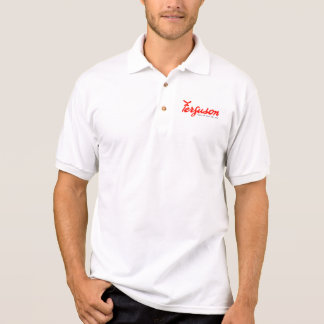 Ferguson Tractor Vintage Hiking Duck kids Polo Shirt