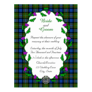 Fergusson Celtic Wedding Postcard