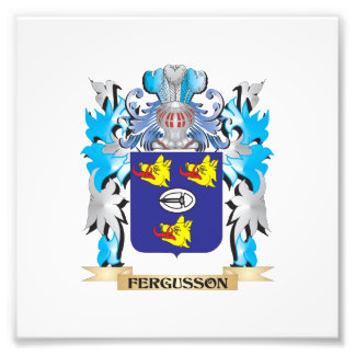 Fergusson Coat of Arms - Family Crest Photograph