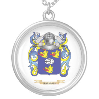 Fergusson Coat of Arms Silver Plated Necklace