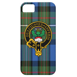 Fergusson Scottish Crest and Tartan iPhone 5/5S iPhone SE/5/5s Case