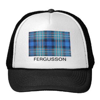 FERGUSSON SCOTTISH FAMILY TARTAN TRUCKER HAT