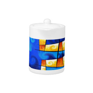 Fergussos V1 - digital abstract Teapot