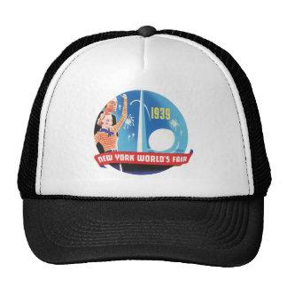 Feria 1939 de mundos de Nueva York Gorro De Camionero